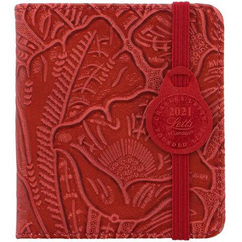 Еженедельник Letts Baroque 100x90мм кремовые стр фикс резинка красный (412 151840)