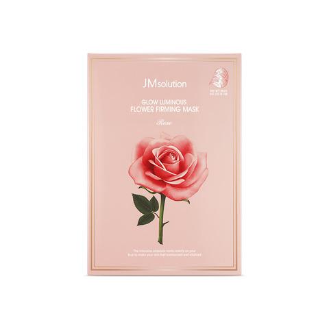 JMsolution Маска для лица с розовой водой и цветочными экстрактами Glow Luminous Flower Hydrogel Mask,  30 мл.