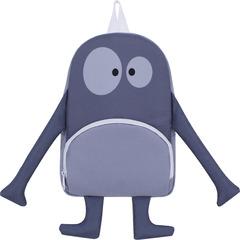 Рюкзак детский Bagland Monster 5 л. серый 916 (0056366)