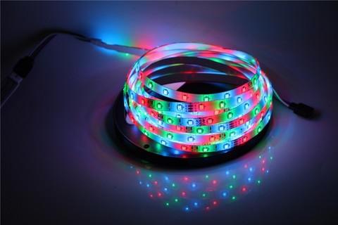 Лента 5050LED разноцветная RGB мультик