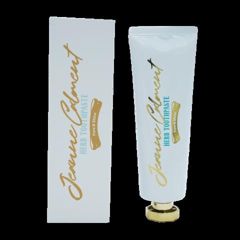 Evas Jeanne Calment Herb Toothpaste Pure & Shine скрабирующая зубная паста