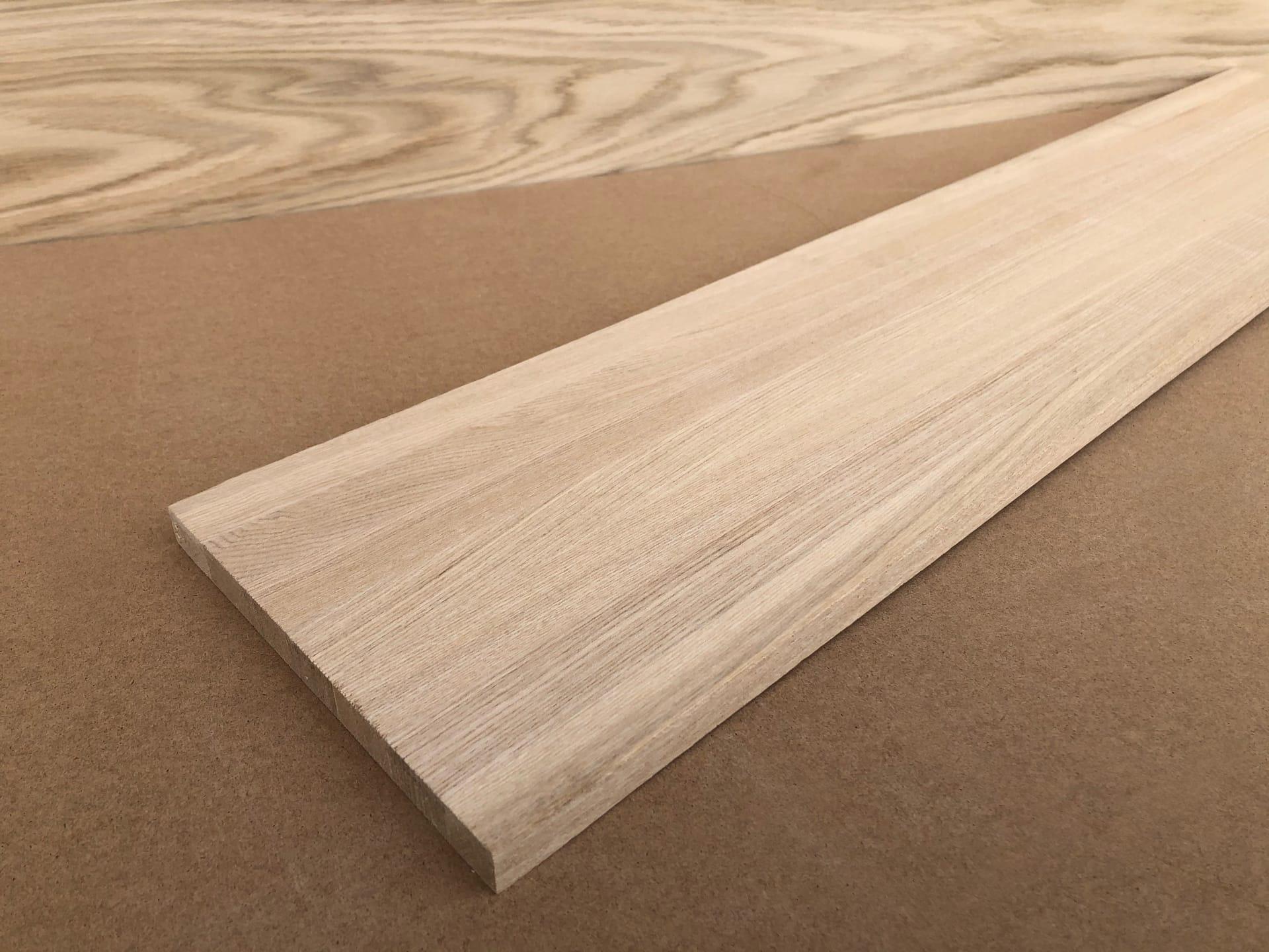 Мебельный щит из дуба (цельноламельный) 20х600х1700 мм