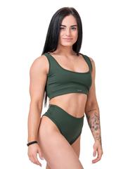 Плавки Nebbia High-waist retro bikini - bottom 555 green