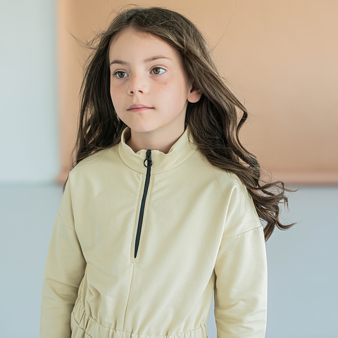 Sporty sweater dress for teens - Safary