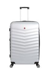 Чемодан Swissgear Fribourg, серебристый, 45x27x66 см, 64 л