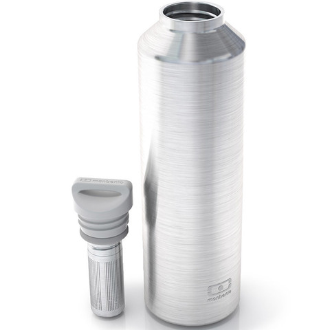 Термос с ситечком для заварки MB Steel 500 мл. серебристый