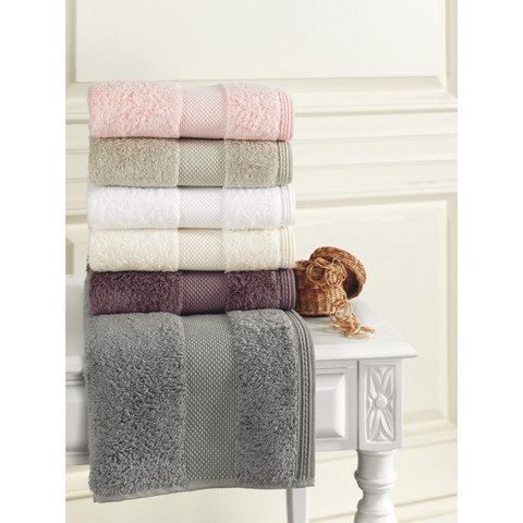 DELUXE-ДЕЛЮКС  полотенце махровое Soft Cotton (Турция)