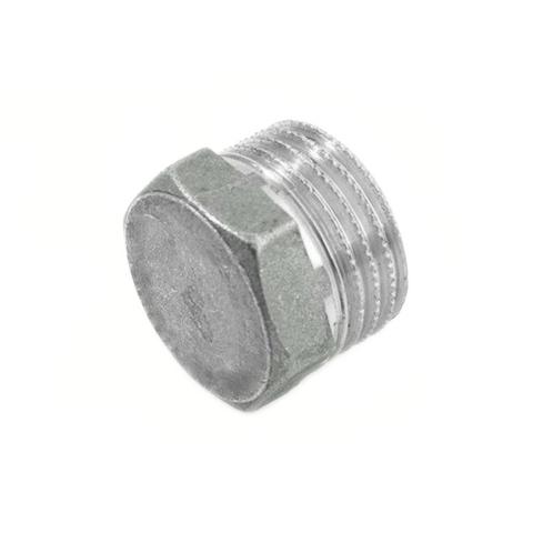 Заглушка латунная с наружной резьбой STOUT - 1
