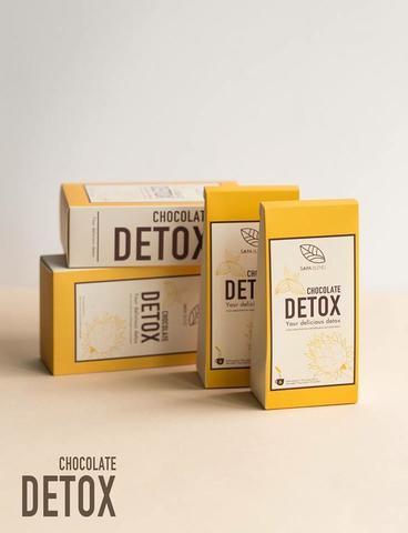 Какао Chocolate Detox с вытяжкой из артишока - 270 гр.