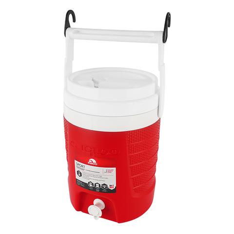 Изотермический контейнер (термобокс) Igloo 2 Gal Sport (7 л.), красный