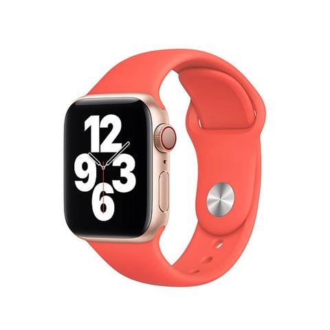 Ремешок Apple watch 38mm Sport Band /kumquat/ S
