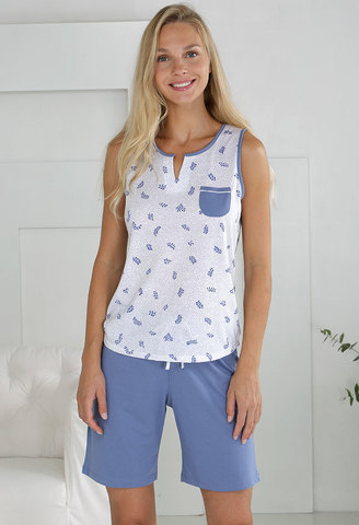 Пижама женская с шортами Massana MP_211216 3XL 4XL