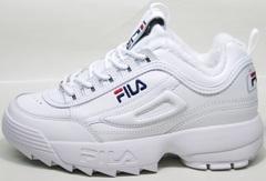 Зимние женские кроссовки Fila Disruptor II