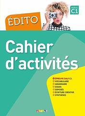 Edito C1 - Cahier