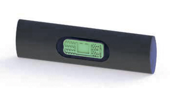Лента с плоским эмиттером (Ø 29 мм)