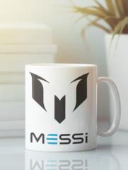 Кружка с изображением Лионель Месси (Lionel Messi) белая 007