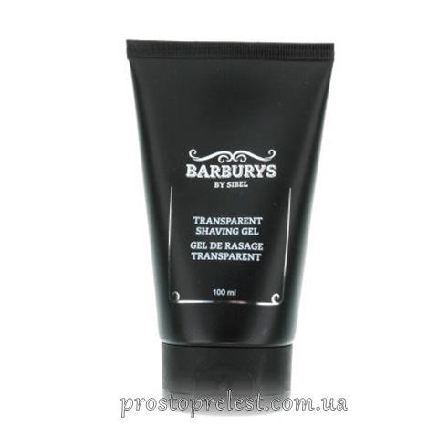Barburys Transparant Shaving Gel - Крем-гель для точного гоління прозорий
