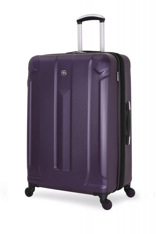 Чемодан WENGER ZURICH III, цвет фиолетовый, 48x30x79 см, 105 л (6573909177)