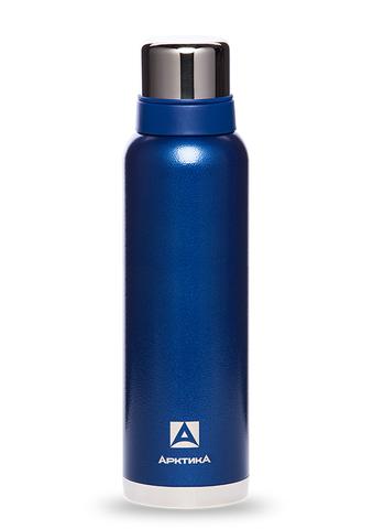 Термос Арктика (1,6 литра) с узким горлом американский дизайн, синий