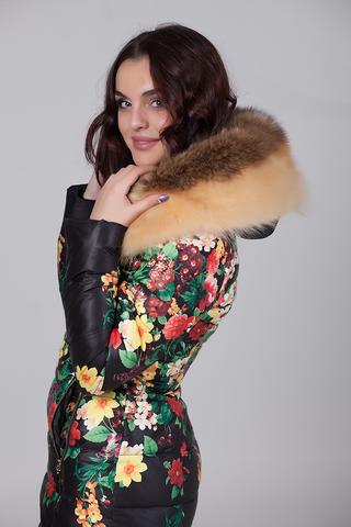 Куртка из плащевки женская на меху купить