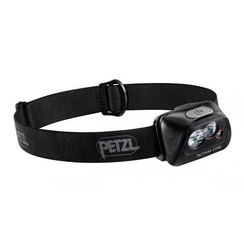 Фонарь светодиодный налобный Petzl Tactikka Core черный, 450 лм, аккумулятор