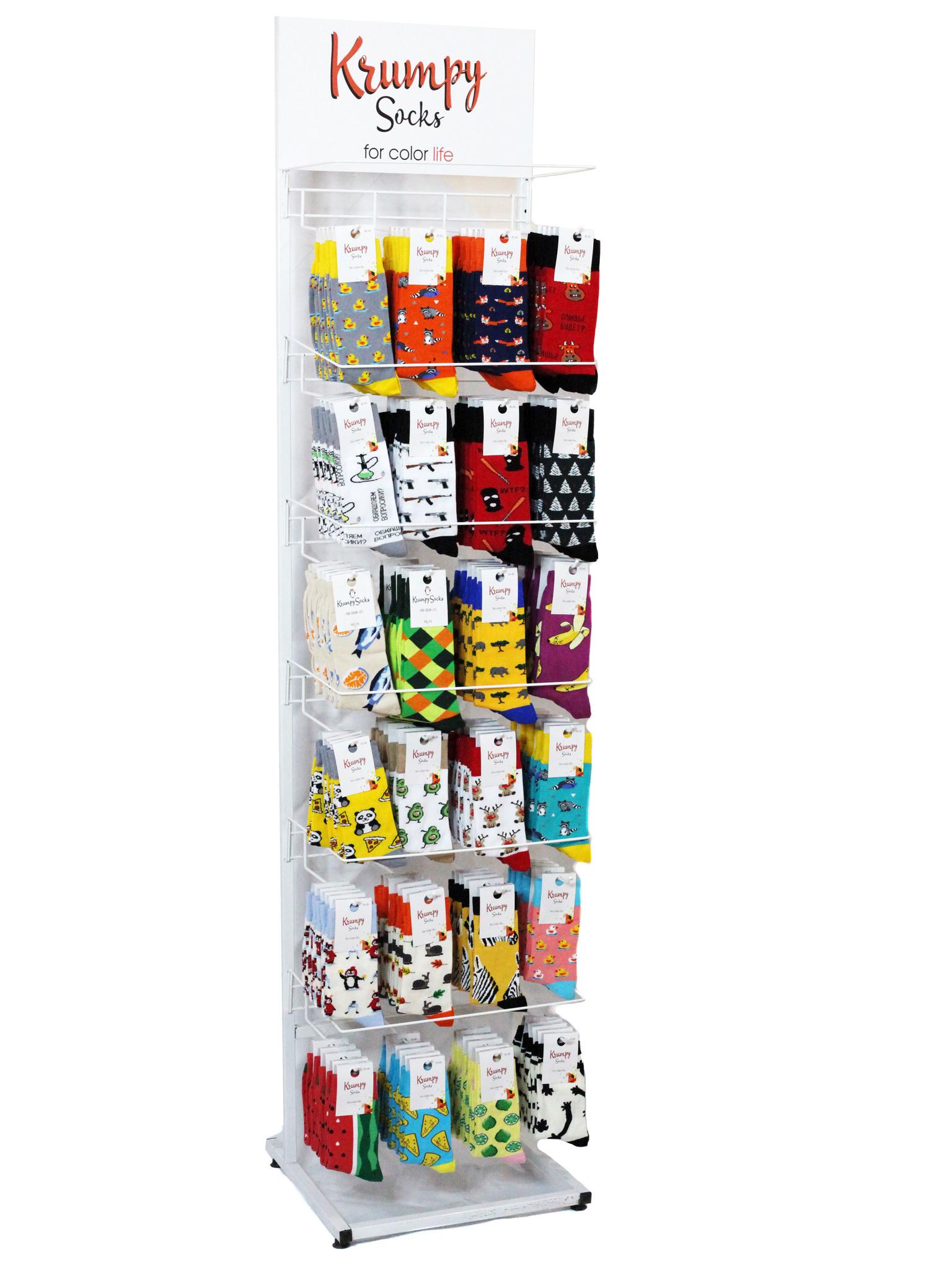 Стойка для продажи носков (30 крючков)