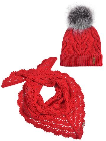 Комплект: шапка, бактус