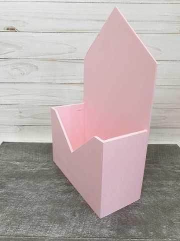 Конверт мдф малый розовый