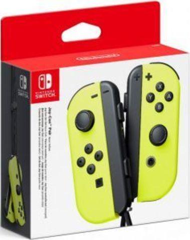 Набор контроллеров Joy-Con (Nintendo Switch, неоновые желтые)