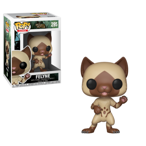 Фигурка Funko POP! Vinyl: Games: Monster Hunter  S1:  Feyline 27343