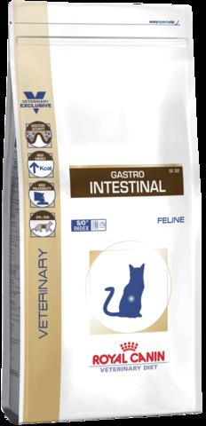 Royal Canin Gastro Intestinal GI32 для кошек при нарушениях пищеварения