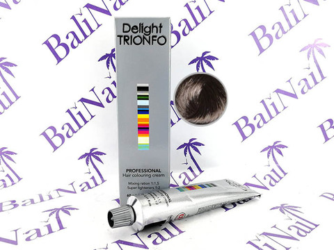TRIONFO 4-2 стойкая крем-краска для волос Средний коричневый пепельный, 60 мл
