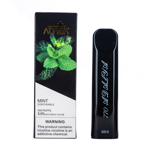 Одноразовая электронная сигарета Adalya Mint 5% 400 затяжек
