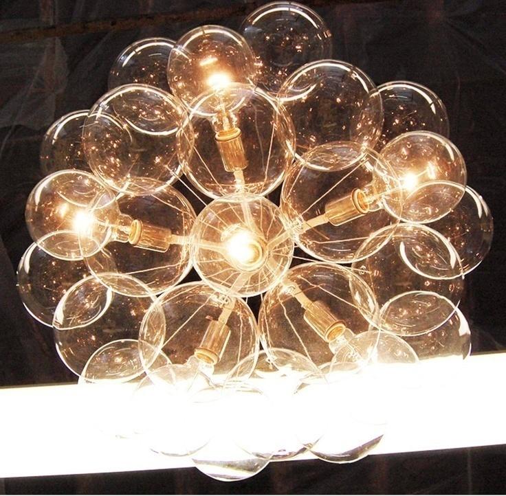 Подвесной светильник копия Bubble Jumbo-36 by Pelle (коричневый)
