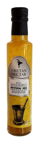 Белый бальзамический уксус с горчицей и медом Cretan Nectar 250 мл.