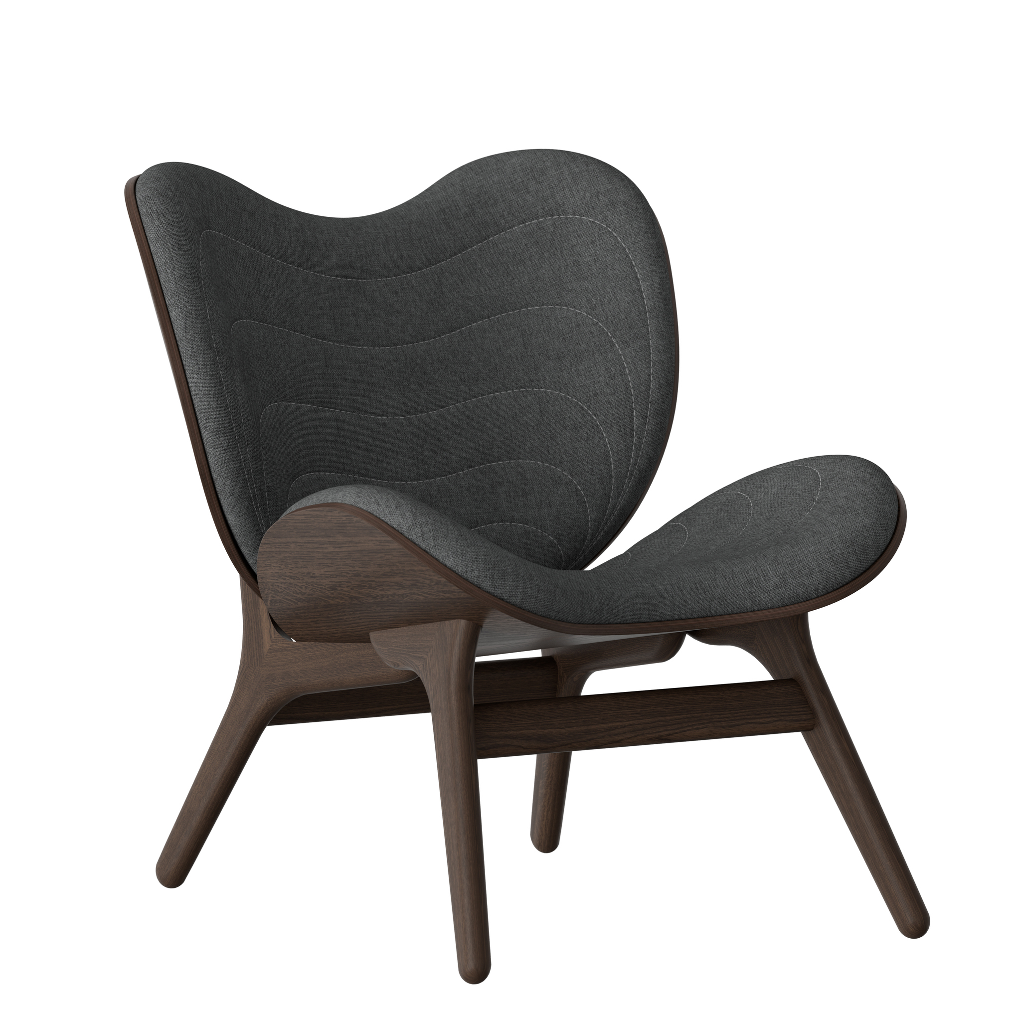 Кресло A Conversation Piece, темный дуб - вид 6