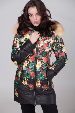Куртка из плащевки женская на меху Nadya