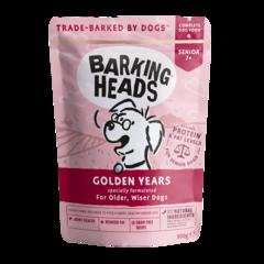 """Пауч для собак старше 7 лет, BARKING HEADS Golden Years """"Золотые годы"""""""