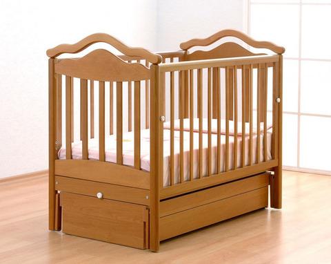 Детская кроватка Гандылян Анжелика маятник поперечный