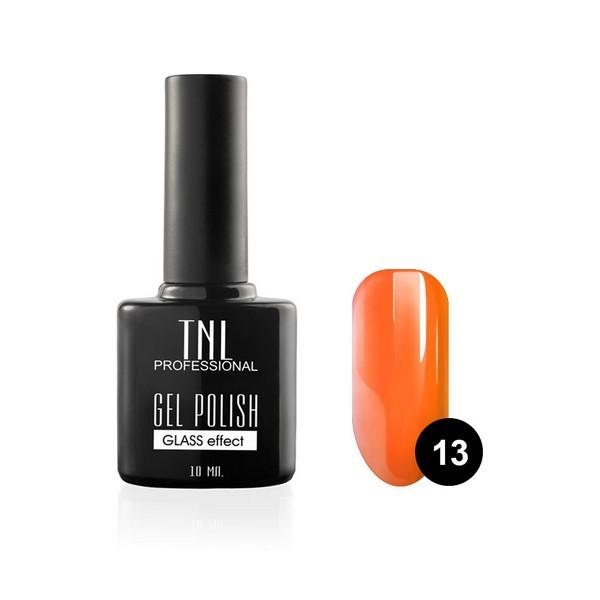 """Зеркальный блеск TNL, Гель-лак """"Зеркальный блеск"""" № 13 - мерцающий оранжевый (10 мл) 13.jpg"""