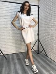 Платье-туника выше колена недорого