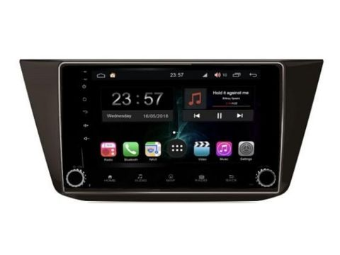Штатная магнитола для VW Tiguan на Android 9,0IPS DSP 4G модельRG731RB