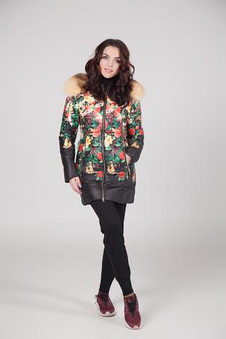 Куртка из плащевки женская на меху интернет магазин
