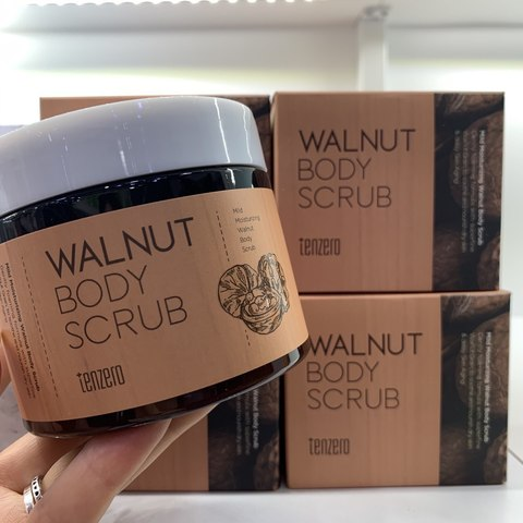 TENZERO walnut body scrub