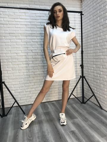 Платье-туника выше колена Nadya