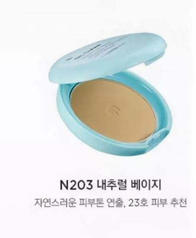 The Face Shop Компактная пудра Oil Clear Smooth & Bright Pact SPF30 PA++ #N203 Natural Beige