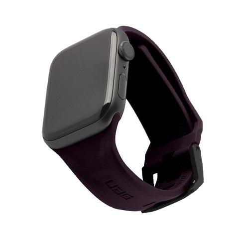 Ремень силиконовый UAG Scout Silicone для Apple Watch 44/42 баклажан (Eggplant)