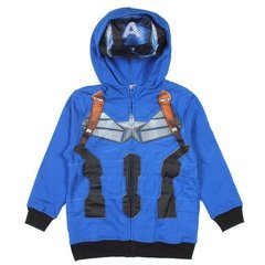 "MARVEL Толстовка с капюшоном ""Капитан Америка"" МВ44"