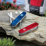 Нож перочинный Victorinox Climber 1.3703.T 91мм 14 функций полупрозрачный красный