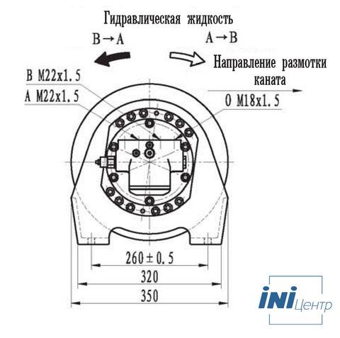 Эвакуационная лебедка IYJ2.52.5-18-100-10-ZPNE